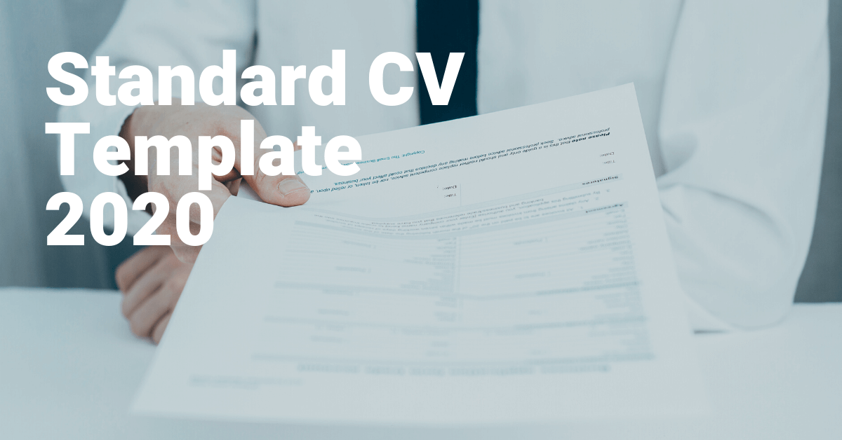 Download - Standard CV Template