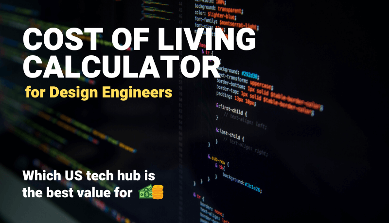 Download - Design Engineer | Cost of Living Calculator